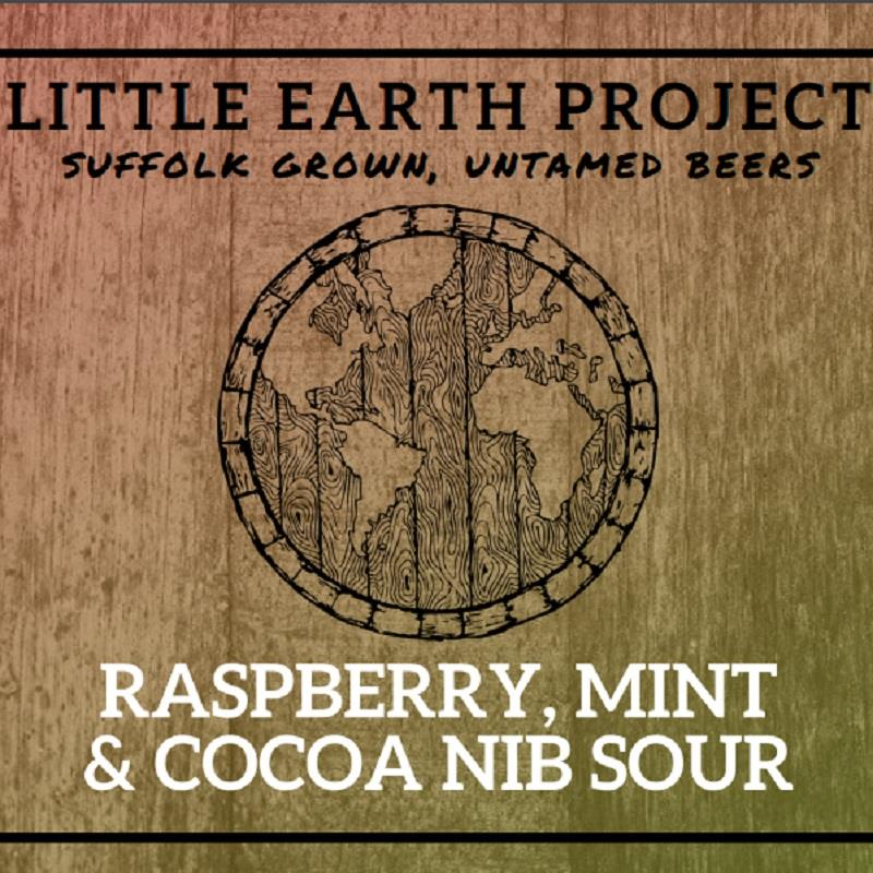 Raspberry Mint & Cocoa Nib Sour