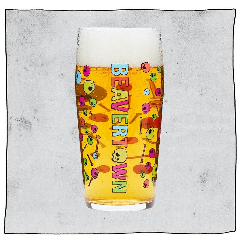 Beavertown Pint Glass